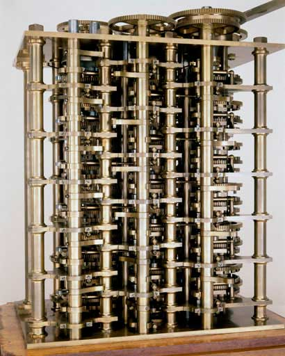 A part of Difference Engine