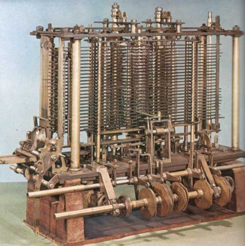 A model of the mill of Analytical Engine