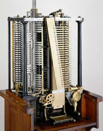 A general view of Analytical Engine