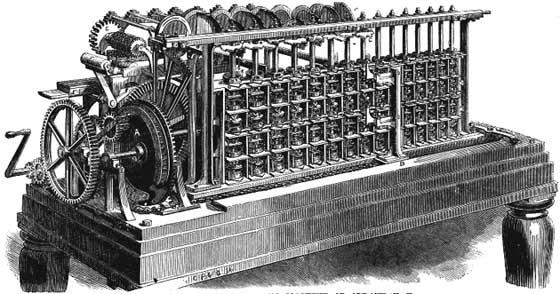 The difference engine of Scheutz
