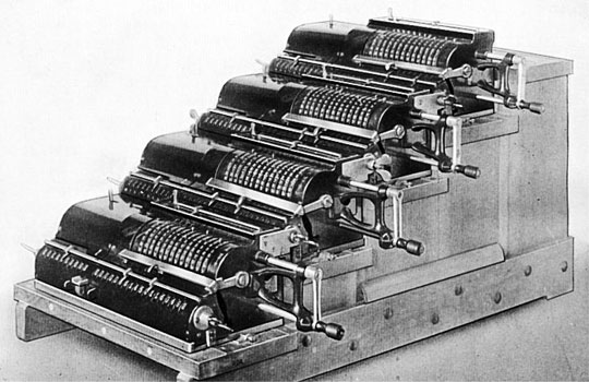 The difference engine of A. J. Thompson