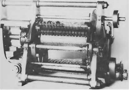 The difference engine of Wiberg