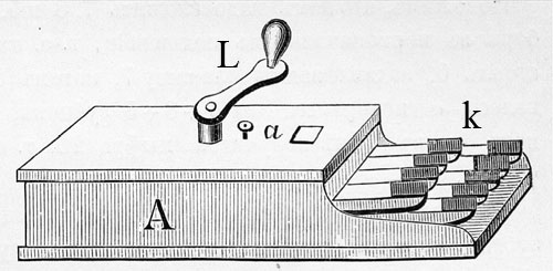 Calculating machine of Max Mayer
