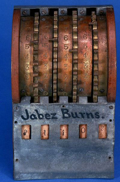 The patent model of Burns