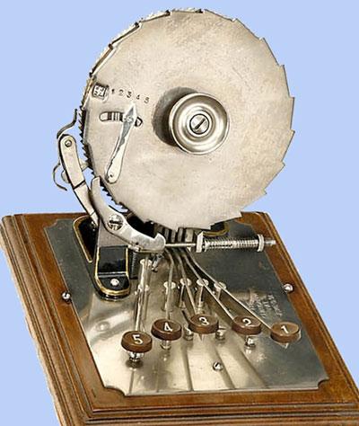 The Centigraph Adding Machine