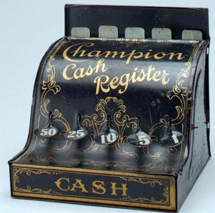 The Champion Cash Register of John Pfeifer