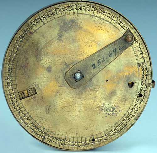 The tallying instrument of George Farmer