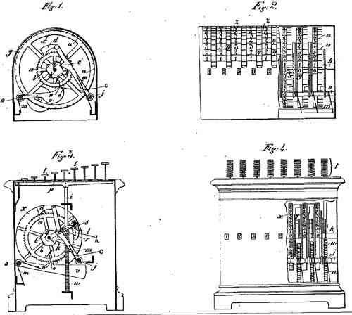 adding machine of Carlo Fossa-Mancini