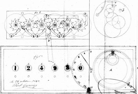 The patent drawing of Jean-Paul Garnier