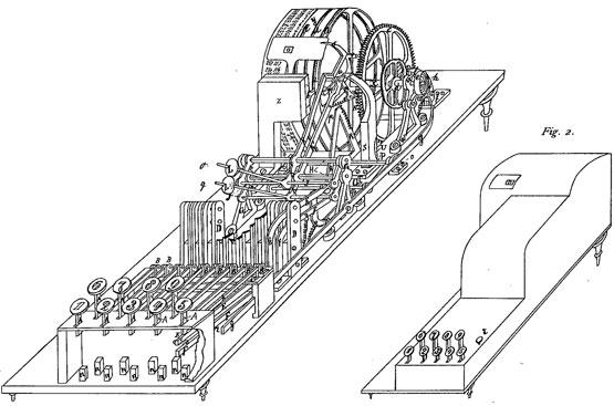Schnell-Addirmashine machine of Eduard Hammenstede
