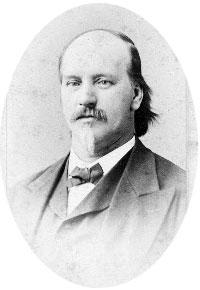 Jabez Burns in 1870