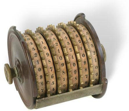 The adding machine of Milton Jeffers