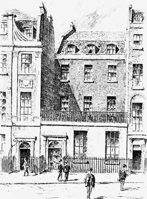 Jews College Finsbury Square in London