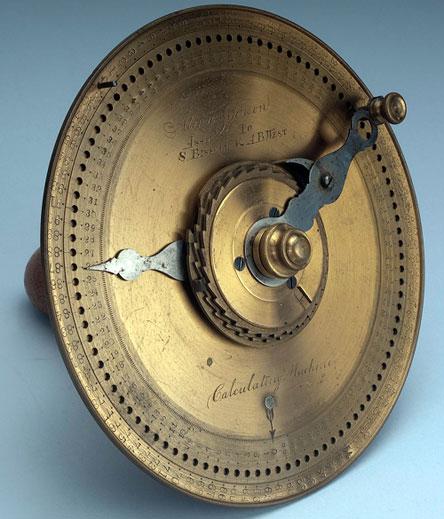 The second calculating machine of Alonzo Johnson