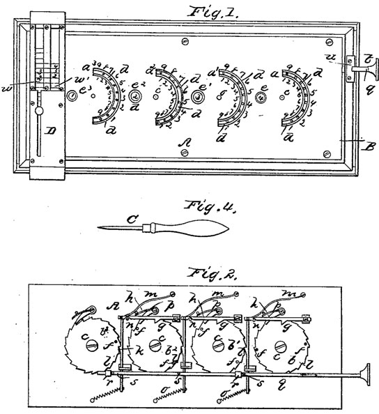 Samuel J. Kelso adding machine