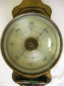 Leonard Nutz compass from 1853