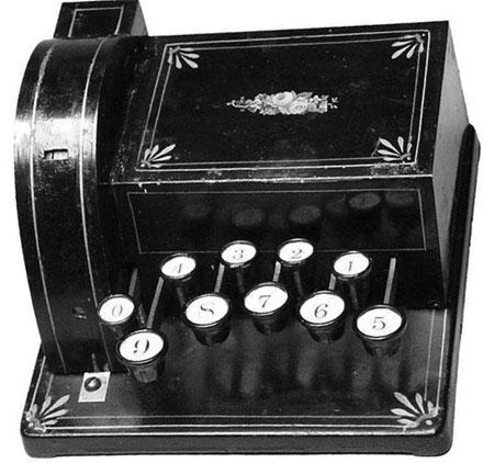 Lindholm adding machine
