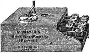max Mayer Adder 1881