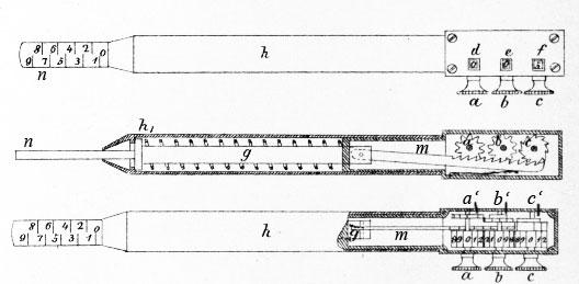 The adding device of Leuner