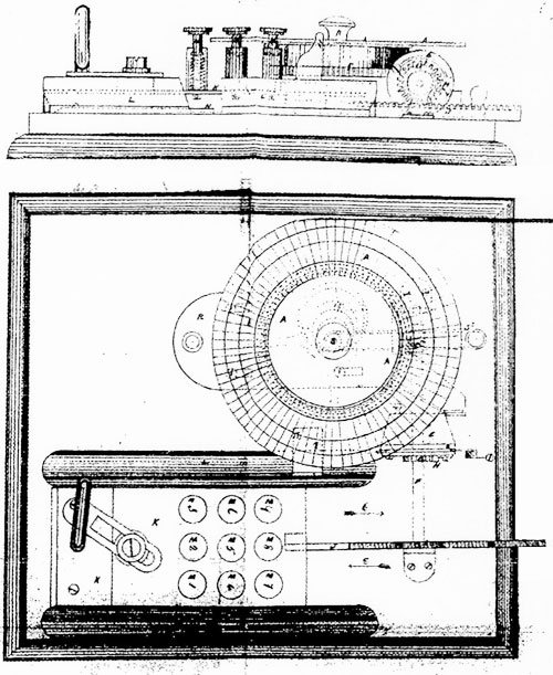 The Bentham Calculating Machine of Moses and William Pullen