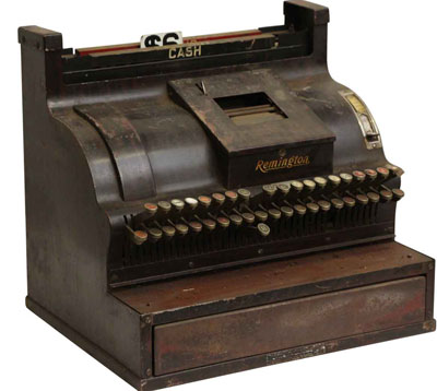The Remington Cash Register of Frederick Fuller