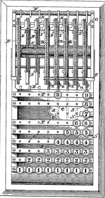 Schnarrenberger first patent drawing