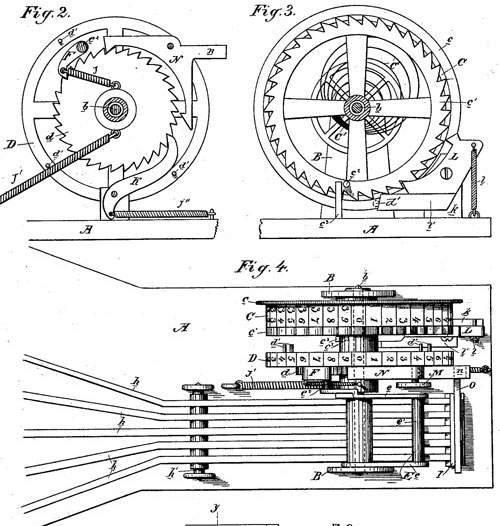 The patent drawing of first Smith