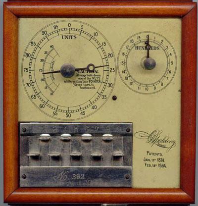 Spalding Adding Machine