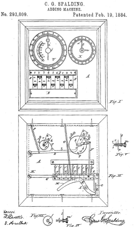 The patent drawing Groesbeck