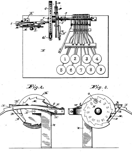 The calculating machine of Lawrence W. Swem