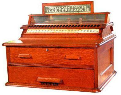Simple Cash Register of Waddell