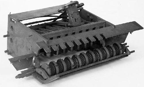The first machine of Frederick Warren