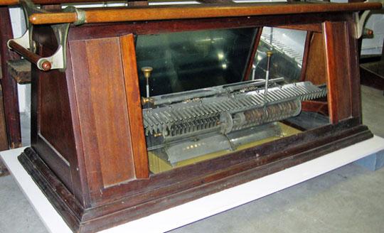 The third machine of Frederick Warren