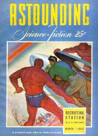 Astounding Science Fiction magazine, March 1942