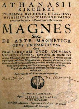 Magne sive de Arte Magnetica