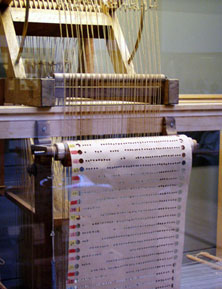 roll of paper of Bouchons loom