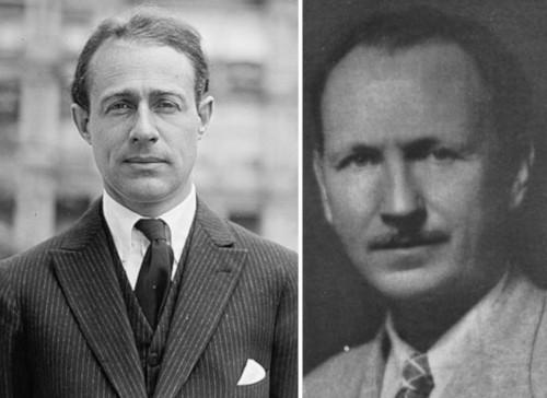 John Hays Hammond Jr. (left) and Benjamin Franklin Miessner (right)
