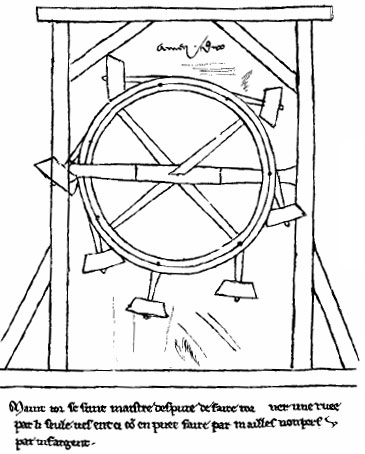 Perpetuum-mobile of Villard