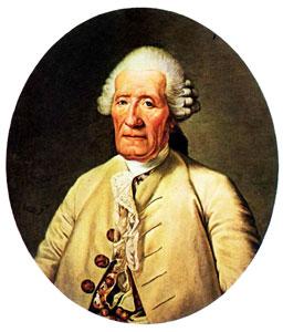 Color Portrait de Jacques Vaucanson