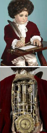 The Writer automaton created by Pierre Jaquet-Droz