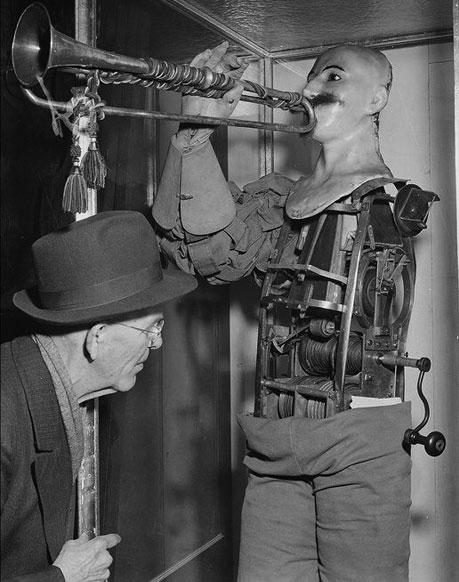 The Trumpet Player of Friedrich Kaufmann