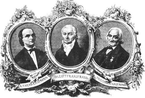 The Kaufmann family from Dresden