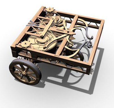 Self Propelled Cart >> History Of Computers And Computing Automata The Automata Of