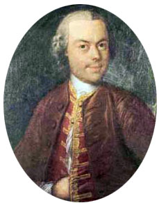 Pierre Jaquet-Droz painted portrait