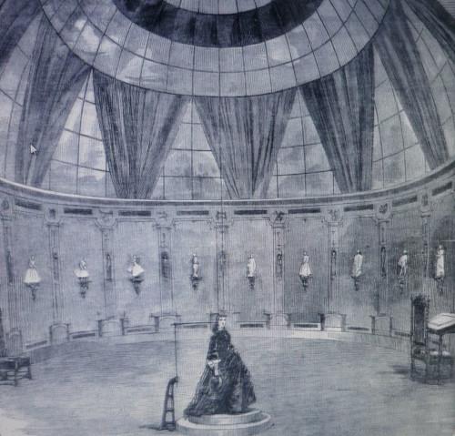 The rotunda laboratory of Willème at 42, Blvd. de l