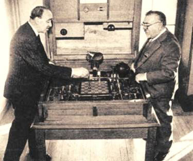 The second chess-automaton of Torres
