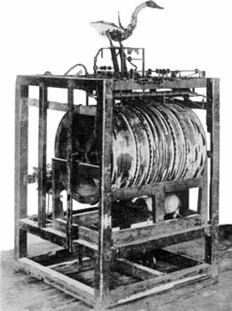 Black and White image of the Loom
