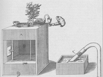 water-driven swan automaton, desgined by de Caus