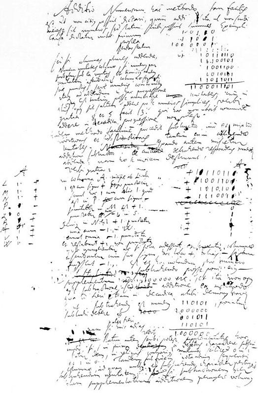 Leibniz Binary System