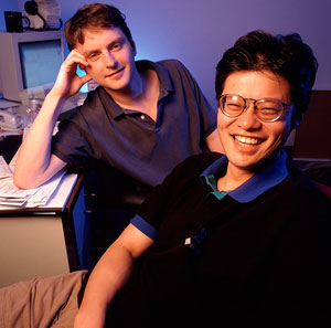 David Filo and Jerry Yang
